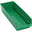 "Shelf Bins - 17-7/8""L x 6-5/8""W x 4""H, Carton of 20"