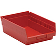 "Shelf Bins - 11-7/8""L x 8-3/8""W x 4""H, Carton of 20"