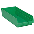 "Shelf Bins - 17-7/8""L x 8-3/8""W x 4""H, Carton of 10"