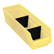 Dividers for Model No. QSB 107 Shelf Bin - Carton of 50