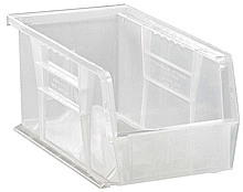 "Clear View Bins - 10-7/8"" x 5-1/2"" x 5"", Carton of 12"