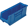 "Jumbo Stackable Containers - 23-7/8""D x 8-1/4""W x 9""H, Carton of 6"