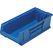 "Jumbo Stackable Containers - 23-7/8""D x 11""W x 7""H, Carton of 4"