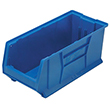 "Jumbo Stackable Containers - 23-7/8""D x 11""W x 10""H, Carton of 4"
