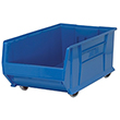 "Mobile Jumbo Stackable Containers - 29-7/8""D x 18-1/4""W x 12""H"
