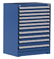 "Heavy Duty Modular Drawer Cabinet - 36""W x 18""D x 46""H, with 11 Drawers"