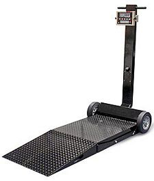 "Deckhand Scale - 31"" x 41"" platform with 1000 lb. capacity - 230 VAC"