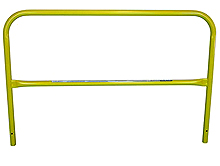 "RailGuard 200 7'6"" Rail Section Only - Safety Yellow"
