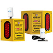 Outdoor Overhead Door Motion Monitor - 3 Lights, 2 Sensors