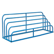"Welded Variable Height Sheet Rack - 4-Bay, 90""W x 36""D x 60""H"