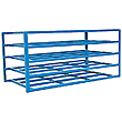"Horizontal Sheet Rack - 5-shelf, 54-1/2""W x 48""H x 102-3/4""L, 2,000 lb. Capacity"