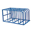 "Standard Sheet Rack - 4-Bay, 84""W x 50""D x 44""H"