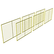 Temporary Fencing Starter Package 2 - 45 Ft. Linear Run