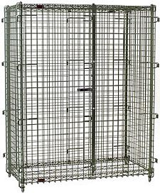 "Security Cage - 39-1/4""w x 33-1/4""d x 66""h"