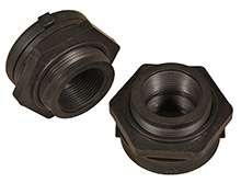 Modular IBC Spill Pallet Bulkhead Fittings, Set of (2)