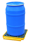 "Low-Profile Flexible Spill Deck Bladder System, 1-Drum - 27""L x 24""W x 5""H, Capacity: 1,500 lbs., 11 gal."