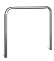 "U-Shape Stainless Steel Guard - 3.5"" OD x 48""W x 50""H"