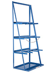 "Vertical Bar Rack - 39-3/8""W x 24-1/8""D x 84""H, 3,000 lbs. cap."