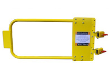 "VersaGate Adjustable Safety Yellow Self-Closing Spring Loaded Gate (42"" - 48"")"