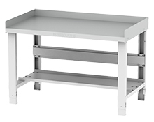 "Adjustable Height Trim Table - 48""W x 28""D x 36""H"