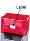 Carton of 3-ea. Giant Stack Container Labels