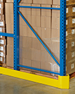 "Pallet Rack End Guard, 46""L, Right Side"