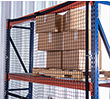 "Modular Rack Safety Net - 8 ft. Bay, 94-1/4""W x 60""H, 2,000-lb. Capacity"