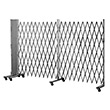 "Portable Folding Gate - 12' Wide - Starter, 78"" Collapsed Height"