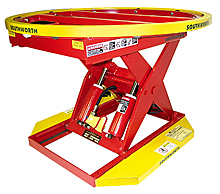 Pallet Level Loader - Powered Hydraulic, 2000 lb.