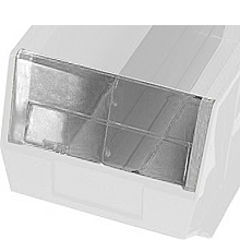 Clear Windows for Clear View Bin # QUS245CL - Packet of 6