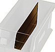 Dividers for Clear View Bin # QUS240CL & QUS250CL - Packet of 6