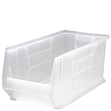"Clear View Extra Large Containers - 23-7/8"" x 11"" x 10"", Carton of 4"