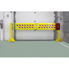 Folding Rail Dock Safety Gate - 13,100 lbs Impact Capacity