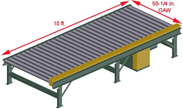 Powered Pallet Conveyor - 2 5