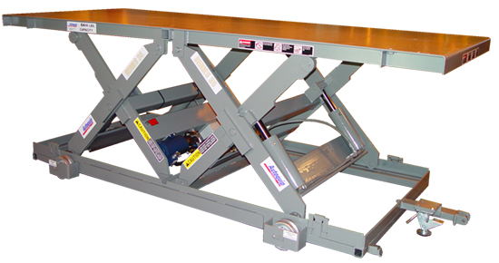 Extra Wide Double Long Scissor Lift