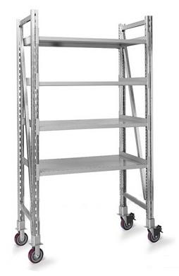 Cisco Eagle Catalog Steel Pick Shelving Mobile Single Straight 60 H X 39 W X 20 D