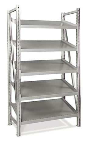 Steel Pick Shelving 5 Level Single Tilt 78 H X 39 W X 24 D Start Cisco Eagle Catalog