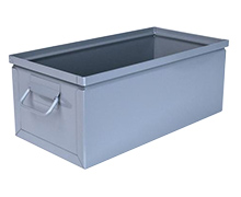 "Steel Stackbox # 8, 20"" x 10"" x 8"" with handle"