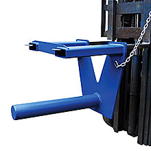 "Fork Mounted Coil Ram/Lifter - 36""L, 4-1/2""Dia."