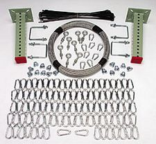 Rack Net Mount Kit, Offset Mount, Add-On