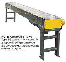 "Accumulation Conveyor - 35'L, 18""W - 1.9"" Rollers"