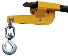 Single Fork Swivel Auto Tension Hoisting Hook