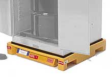 Safety Cabinet Bladder Containment System for One Drum (Vertical) Cabinets