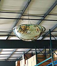 Dome Safety Mirrors Warehouse Traffic Mirrors