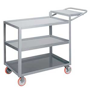 "Order Picking Cart - 3 Shelves, 18""W x 32""L, Lip Top"
