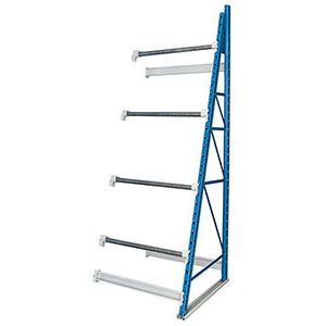 "Spool Storage Rack - 36""W x 36""D x 123""H, 4 Axles, Adder Unit"