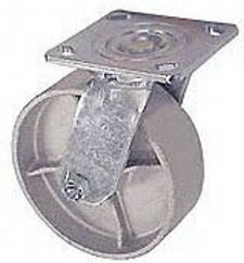 "45 Series Swivel Caster with 5"" x 2"" Cast Iron Wheel and 1,000 lb. Capacity"