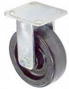 "45 Series Rigid Caster - 4"" x 2"" Phenolic Wheel - 800 lb. Cap."