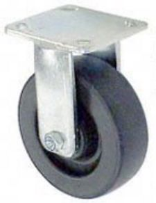 "45 Series Rigid Caster with 8"" x 2"" Polyolefin Wheel and 800 lb. Capacity"