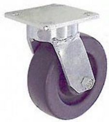 "65 Series Swivel Caster - 6"" x 2"" Polyolefin Wheel - 700 lb. Cap."